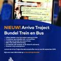 Arriva heeft een flexibel abonnement voor scholieren