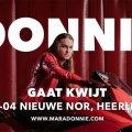 Donnie's optreden is verplaatst naar zaterdag 13 april!