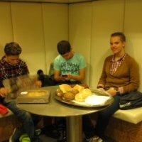 Delano, Tom en Colin op de TROS-radio