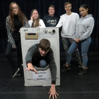 Theater-Estafette-Dagen met leerlingen van Eijkhagen