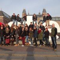 6 VWO met het vak geschiedenis naar Amsterdam